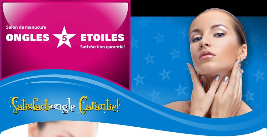 ongles 5 etoiles manucure pedicure